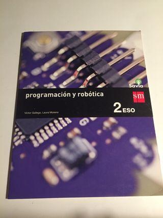 Libro programación y robótica 2 ESO sm