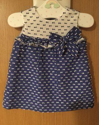 Vestido bebe niña de 12 meses