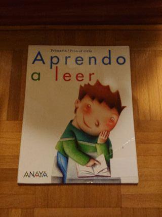 Aprendo a leer. Libro de 1 primaria.