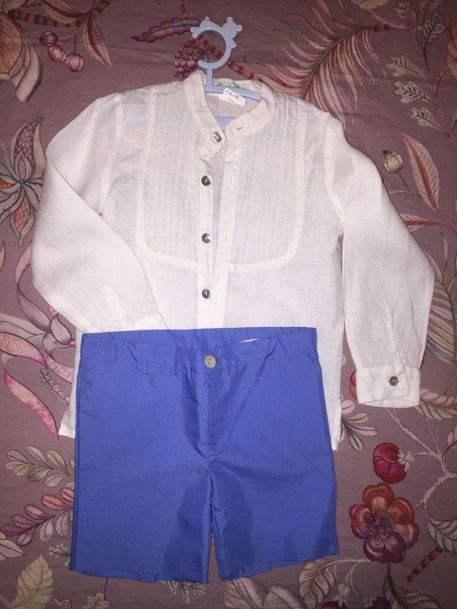 Camisa y pantalón ceremonia