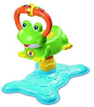 Juguete bebé. Salta la rana.Vtec
