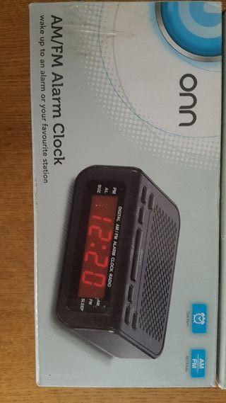 Am/FM Alarm clock
