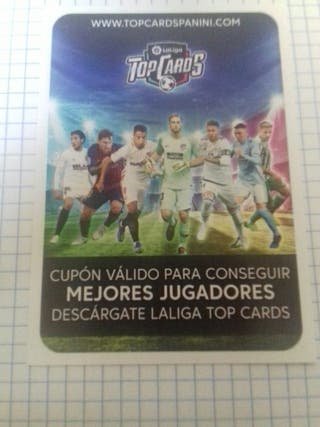 CODIGOS TOP CARDS LIGA ESTE 19 20 SIN ACTIVAR