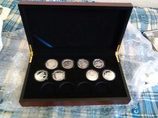 set monedas de plata onza somaliland