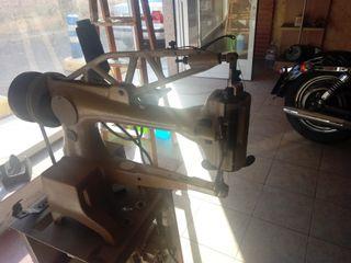 maquina de cabezal giratorio de zapatero