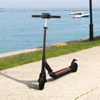 Patinete eléctrico scooter patín manillar plegable