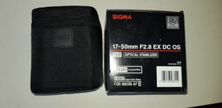 Sigma 17 50 2.8 os.