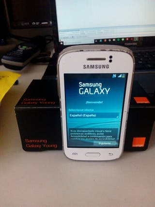 Samsung Galaxy Young ORANGE