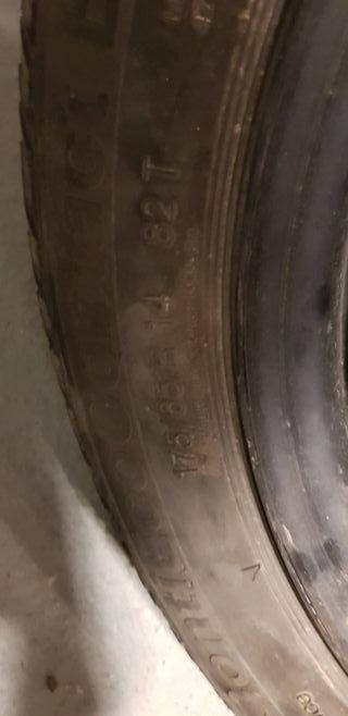 rueda Ford fiesta 3 continental 175 65 r14 82t