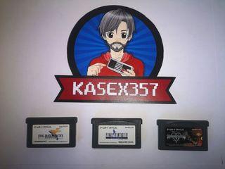 Lote juegos Game Boy Advance GBA