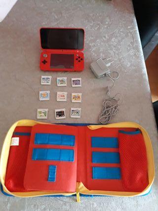 Nintendo 2 DS XL más juego