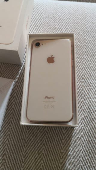 iPhone 8 64Gb dorado rosa libre