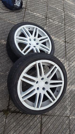 """Llantas Audi RS6 18"""" 5x112"""