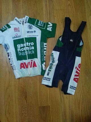 conjunto ciclista niños