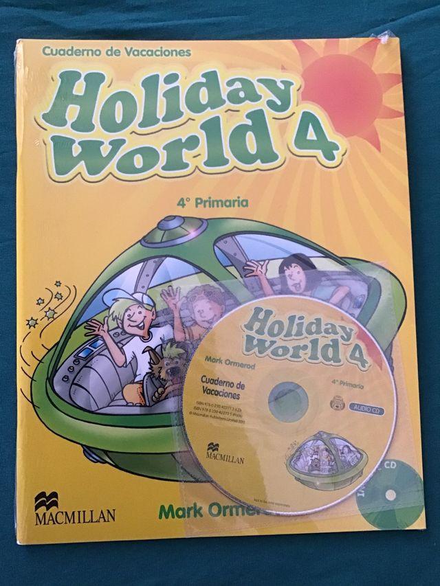 Libro cuaderno vacaciones inglés cuarto primaria de segunda ...