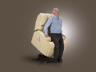 Sillón levanta personas relax masaje