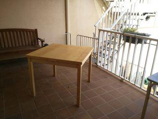 Mesa de madera extensible IKEA