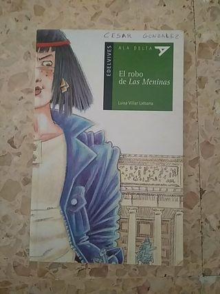 """libro """"el robo de las Meninas"""""""