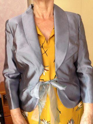 Chaqueta vestir señora raso