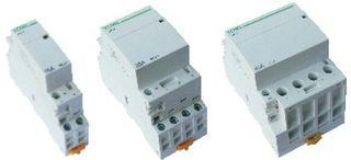 Contactores domesticos modulares 2 y 4 Polos.
