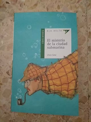 """libro """"el misterio de la ciudad submarina"""""""