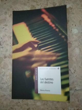 """libro """"Las fuentes del destino"""""""