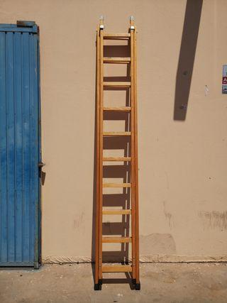 Escalera de madera 10 peldaños (4 unidades)