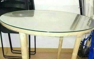cristal mesa 80 cm