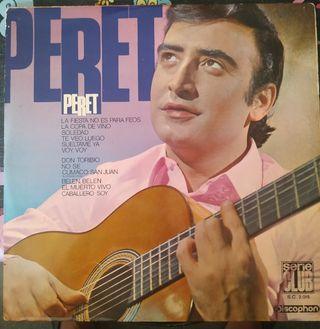 Disco vinilo Peret