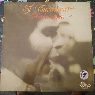 Disco vinilo de El Turronero