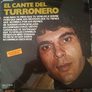 Disco vinilo El Cante del Turronero