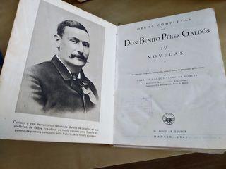 Obras completas 1941 Benito Pérez Galdós Aguilar