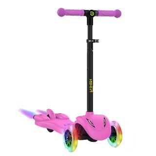 Patinete 3 Ruedas Scooter para niños Rosa