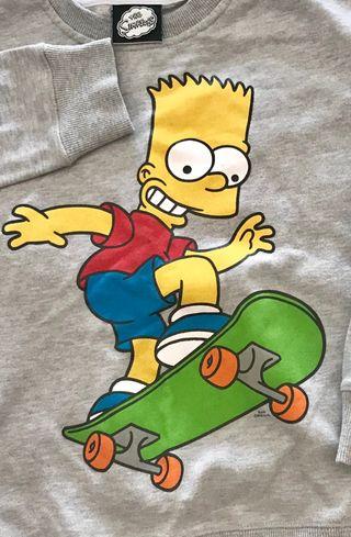 Sudadera Bart Simpsons (8-10 años - 1,34 cm)