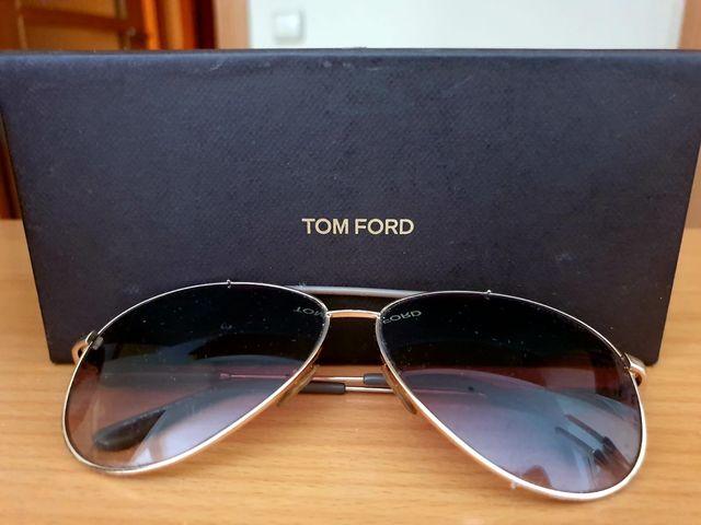 Gafas de Tom ford en dorado