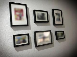 Juego de cuadros / porta retratos
