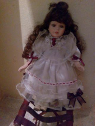 muñeca porcelana antigua años 60