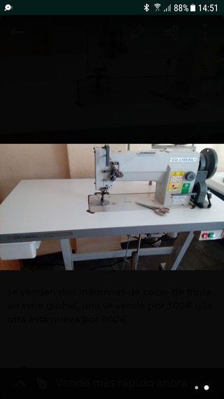 maquina coser global triple arrastre
