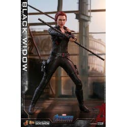 HOT TOYS BLACK WIDOW MARVEL