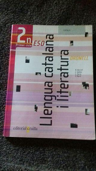 Libro Llengua y literatura catalana 2 eso