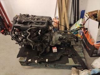 Motor y caja BMW X3 e83 E46 E60 2.5xii