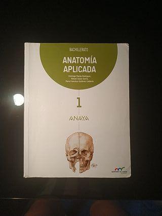 libro anatomia 1 bachillerato anaya