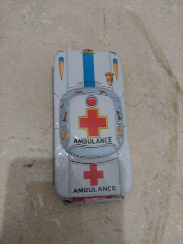 Ambulancia ojalata