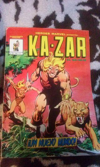 Heroes Marvel Ka-Zar #2