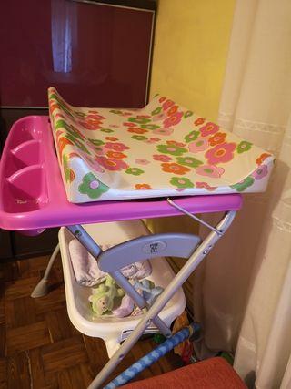 bañera /cambiador prenatal