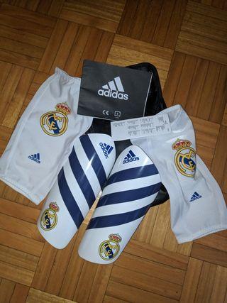 NUEVAS Espinilleras Adidas REAL MADRID PRO Talla:L