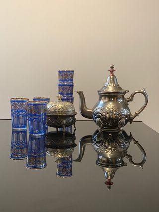 Juego de té Arabe