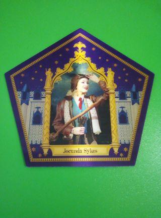 Jocunda Sykes cromo rana chocolate Harry Potter
