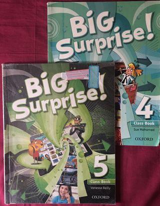 Libros ingles Big Surprise 4º Primaria Ed.Oxford