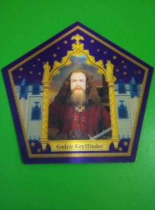 Godric Gryffindor cromo rana chocolat harry potter